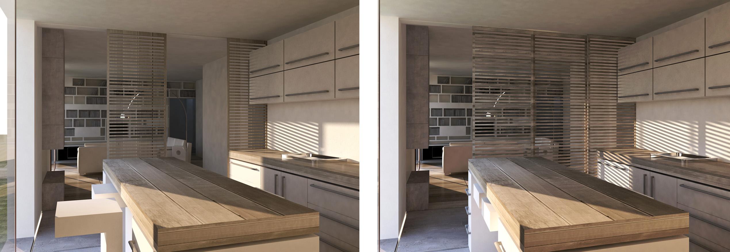 Emejing Divisione Cucina Soggiorno Photos - House Design Ideas 2018 ...